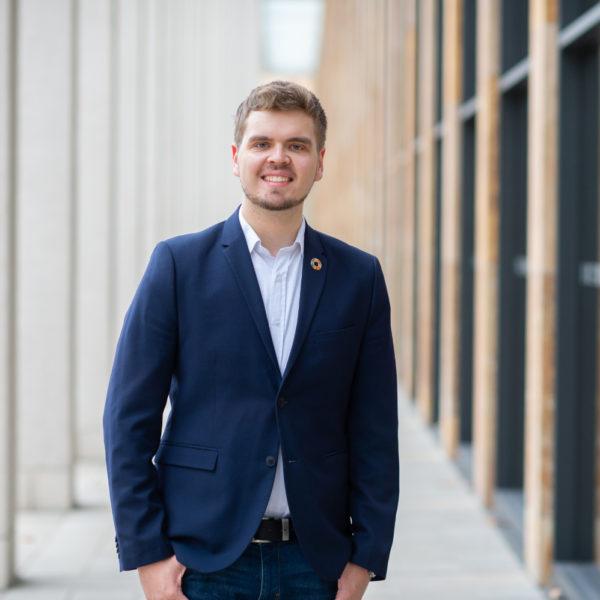 Lukas Schnabel, Kandidat für die Wahl zur Stadtverordnetenversammlung am 14.03.2021