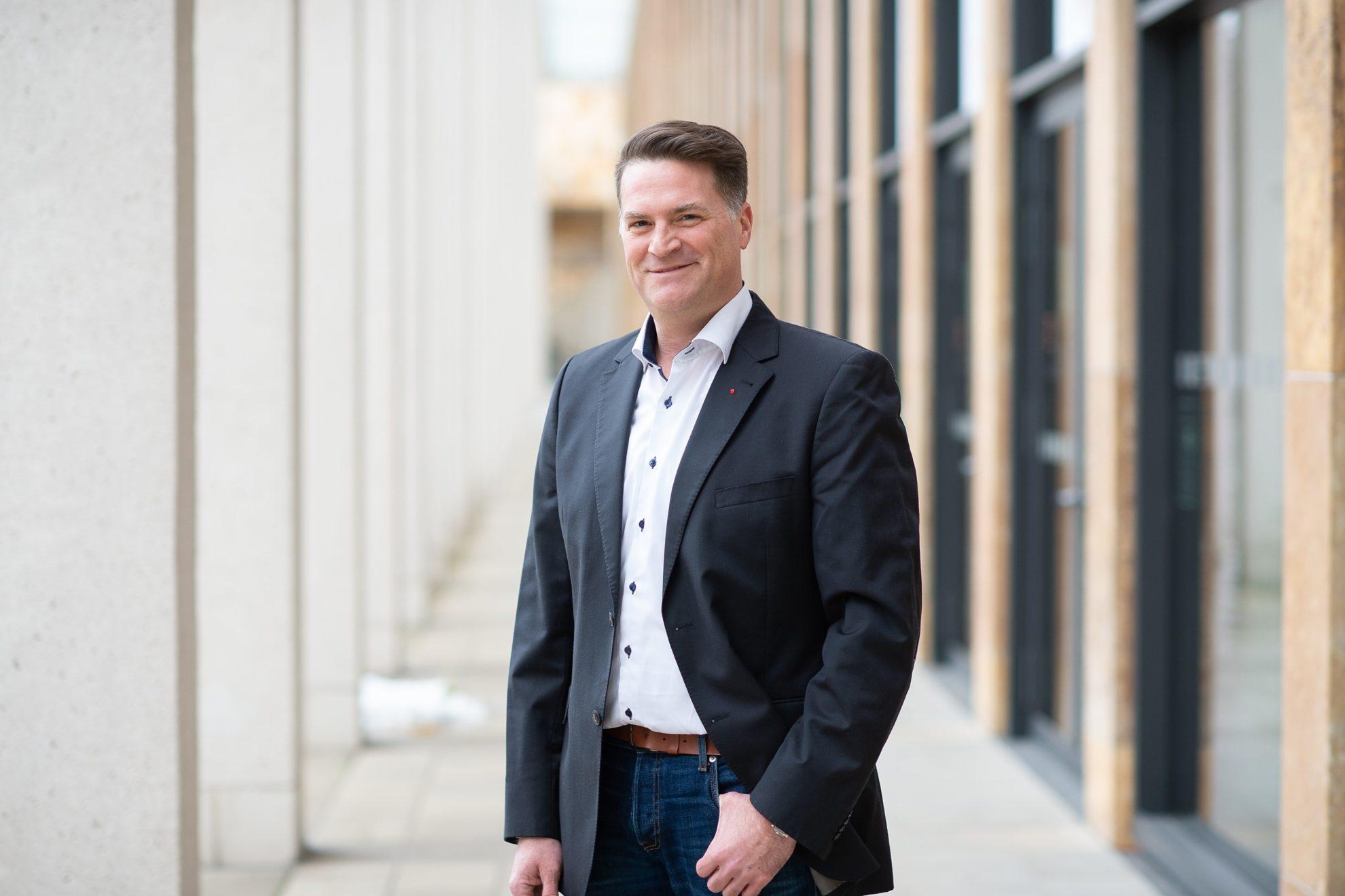 Björn Hambach, Kandidat für die Wahl zur Stadtverordnetenversammlung am 14.03.2021
