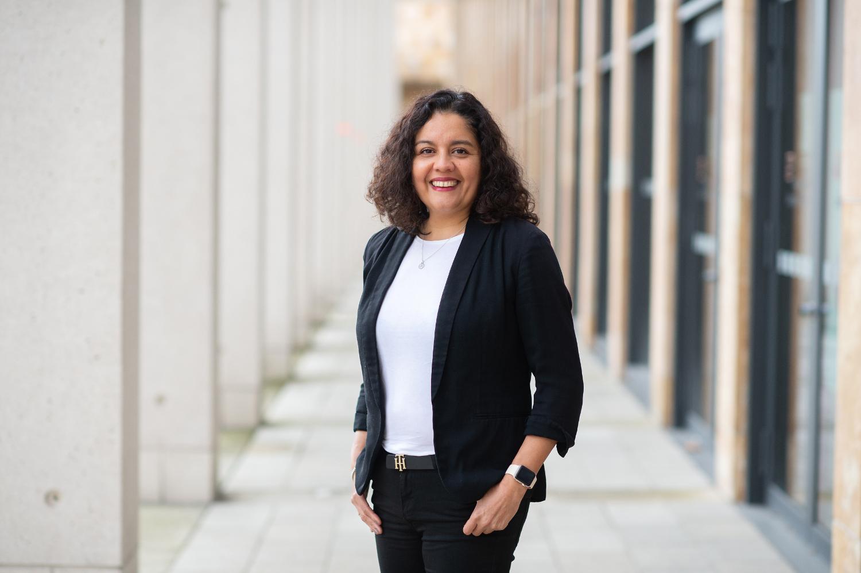 Karen Fernandez-Müller, Kandidatin für die Wahl zur Stadtverordnetenversammlung am 14.03.2021