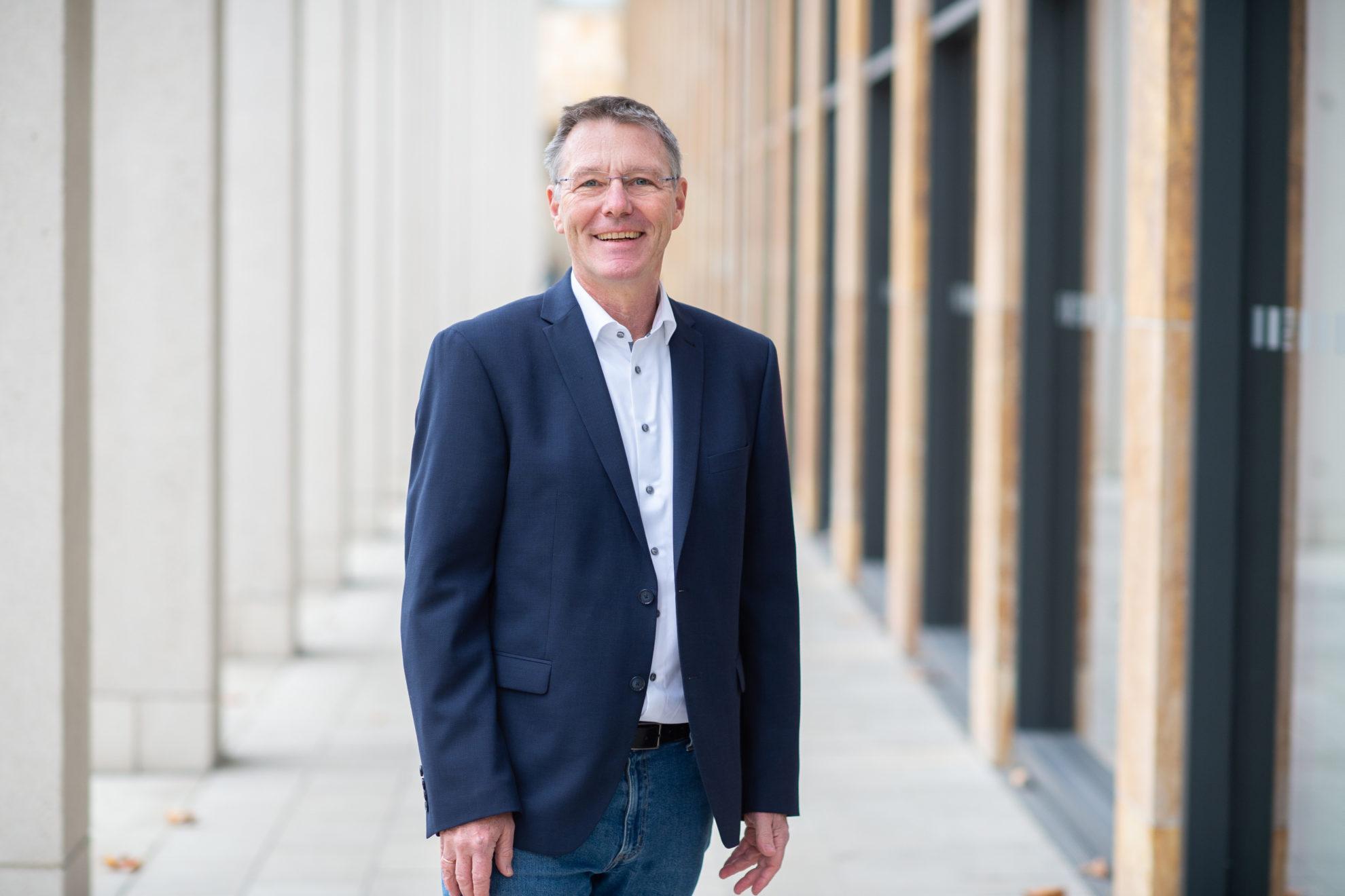 Wolfgang Schmidt, Kandidat für die Wahl zur Stadtverordnetenversammlung am 14.03.2021
