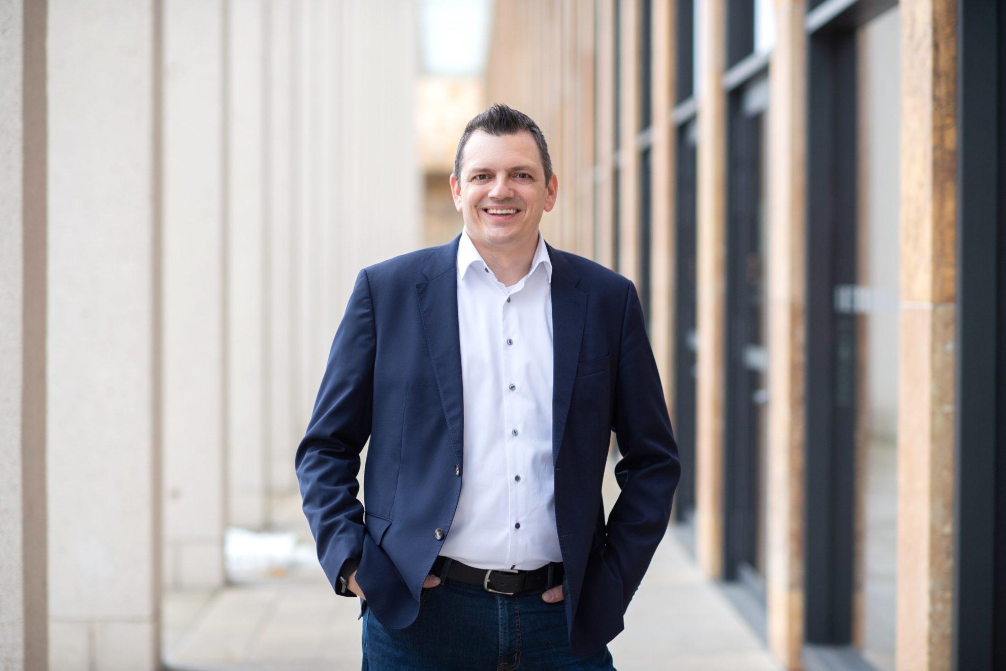 Simon Rottloff, Kandidat für die Wahl zur Stadtverordnetenversammlung am 14.03.2021