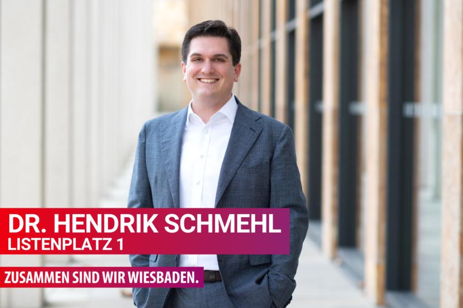 Hendrik Schmehl, Spitzenkandidat der SPD Wiesbaden zur Kommunalwahl am 14.03.2021